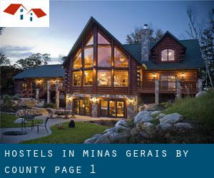 Hostels in Minas Gerais by County - page 1